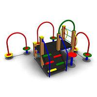 Детское Игровое оборудование Размеры: 2800х1800х1500мм