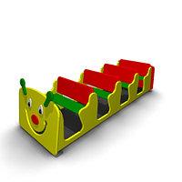 Детское Игровое оборудование «Гусеница» для улицы Размеры: 2405х830х665мм