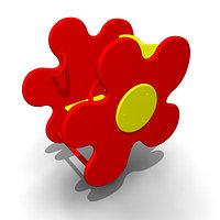 Детская Качалка на пружине «Ромашка» Размеры: 720 x 470 x 930мм