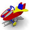 Детская Качалка на одинарной пружине «Самолет» Размеры: 990 x 600 x 725мм
