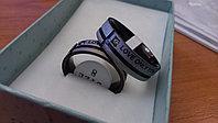 """Двойные кольца для влюбленных """"Love only you"""" черные, фото 1"""