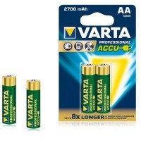 Аккумулятор Varta AA HR6, 2700mAh/1.2V (2шт.)