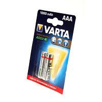 Аккумулятор Varta 800mAh  1.2V - HR03  AAA 2 шт