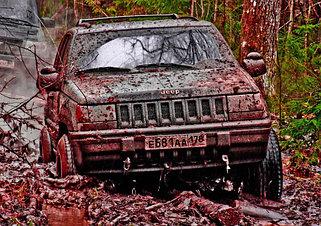 Усиленная подвеска Jeep