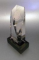 Награда хрусталь с гравировкой ТОМБСТОУН, фото 1