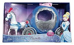 """MATTEL Набор """"Disney Принцесса - """"Волшебная карета Золушки,превращающаяся в тыкву"""