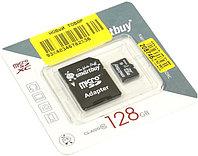 Карта памяти microSD с адаптером Smartbuy 128GB (class 10)