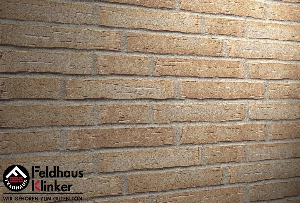 """Клинкерная плитка """"Feldhaus Klinker"""" для фасада и интерьера R681 sintra terracotta bario"""
