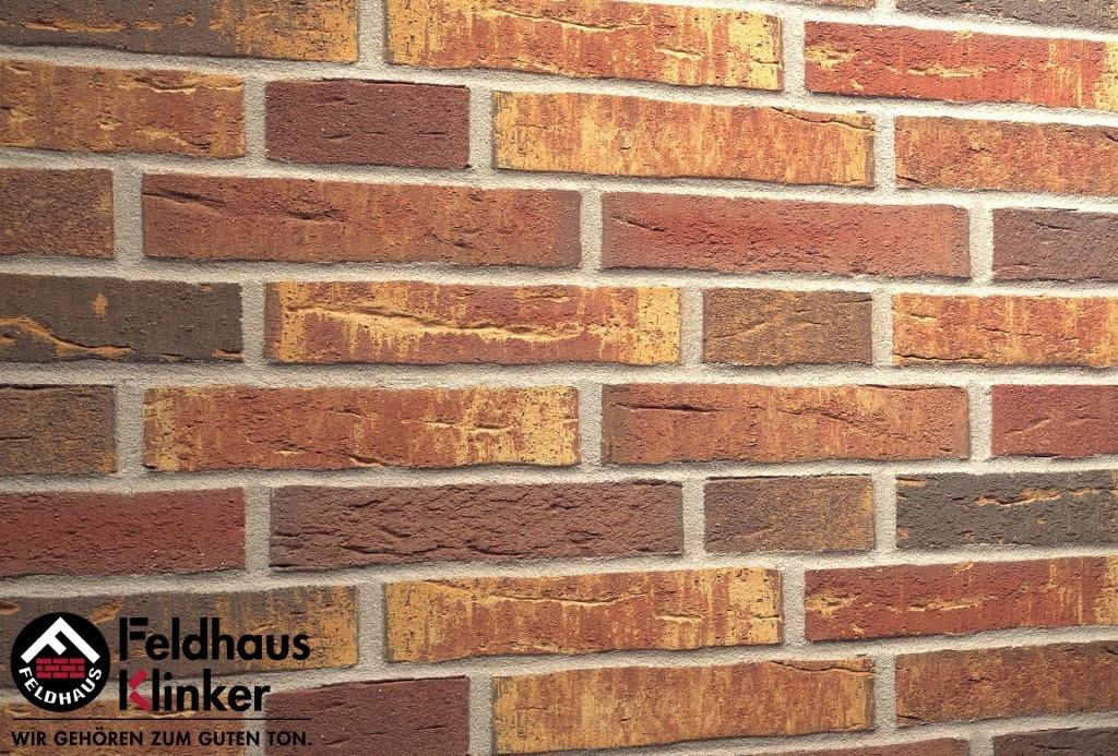 """Клинкерная плитка """"Feldhaus Klinker"""" для фасада и интерьера R686 sintra ardor calino"""