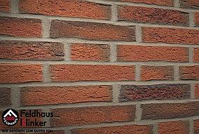 """Клинкерная плитка """"Feldhaus Klinker"""" для фасада и интерьера R687 sintra terracotta linguro"""
