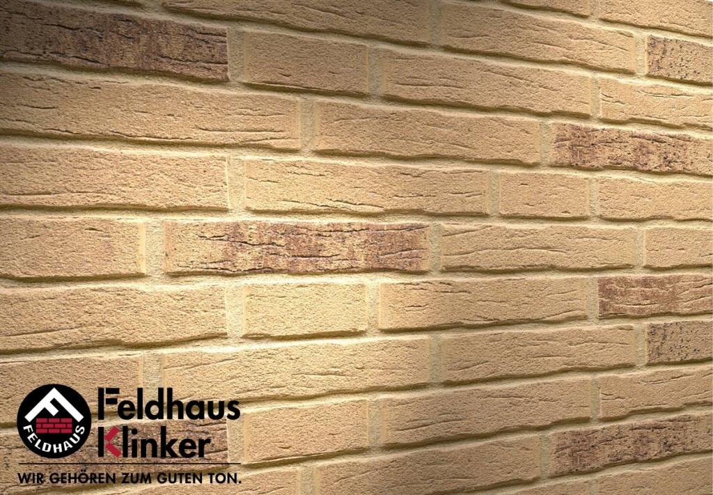 """Клинкерная плитка """"Feldhaus Klinker"""" для фасада и интерьера R688 sintra sabioso"""