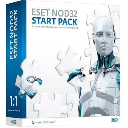 ESET NOD32 Start Pack - базовый комплект безопасности компьютера,  лицензия на 1 год на 1ПК, фото 2