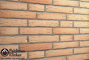 """Клинкерная плитка """"Feldhaus Klinker"""" для фасада и интерьера R696 sintra crema duna"""