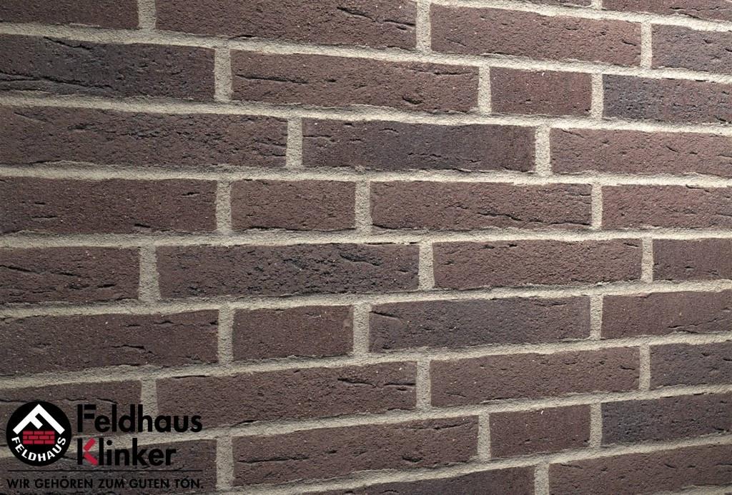 """Клинкерная плитка """"Feldhaus Klinker"""" для фасада и интерьера R697 sintra geo"""