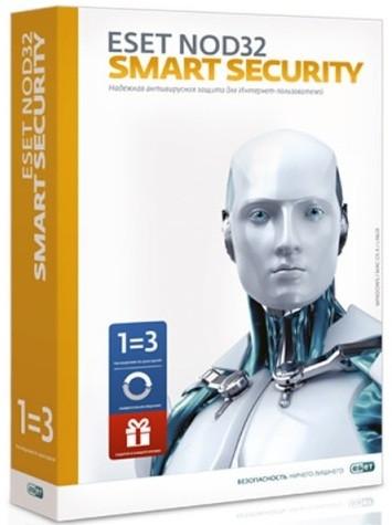 ESET NOD32 Smart Security+ Bonus + расширенный функционал - универсальная лицензия на 1 год на 3ПК или продл.