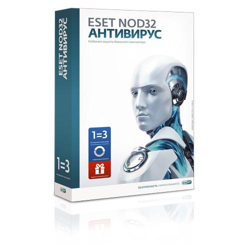 ESET NOD32 Антивирус + Bonus + расширенный функционал - универсальная лицензия на 1 год на 3ПК или продление