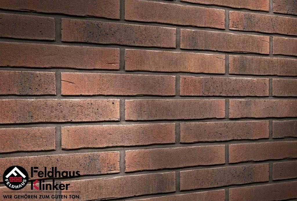 """Клинкерная плитка """"Feldhaus Klinker"""" для фасада и интерьера R729 vascu"""