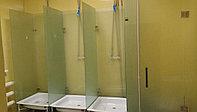 Изготовление стеклянных перегородок для душевых и ванных комнат