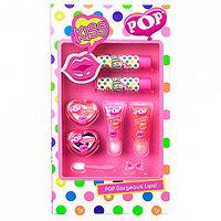 POP Игровой набор детской декоративной косметики для губ