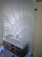 Стеклянные перегородки в ванную комнату