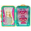Barbie Игровой набор детской декоративной косметики в чемоданчике зел.