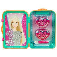 Barbie Игровой набор детской декоративной косметики в чемоданчике зел., фото 1