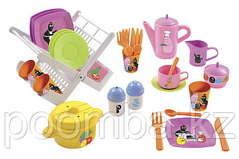 Набор сушилка д/посуды+посуда
