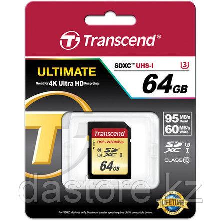 Transcend TS64GSDU3 карта памяти, фото 2