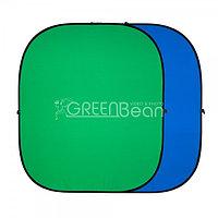 GreenBean Twist 180 х 240 B/G хромакей зеленый фон, фото 1