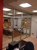 Изготовление стеклянных перегородок , фото 1
