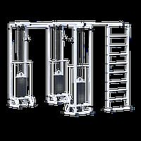Биотонус-3 + шведская стенка (стек 3х75 кг) (AR087.3х2400 )