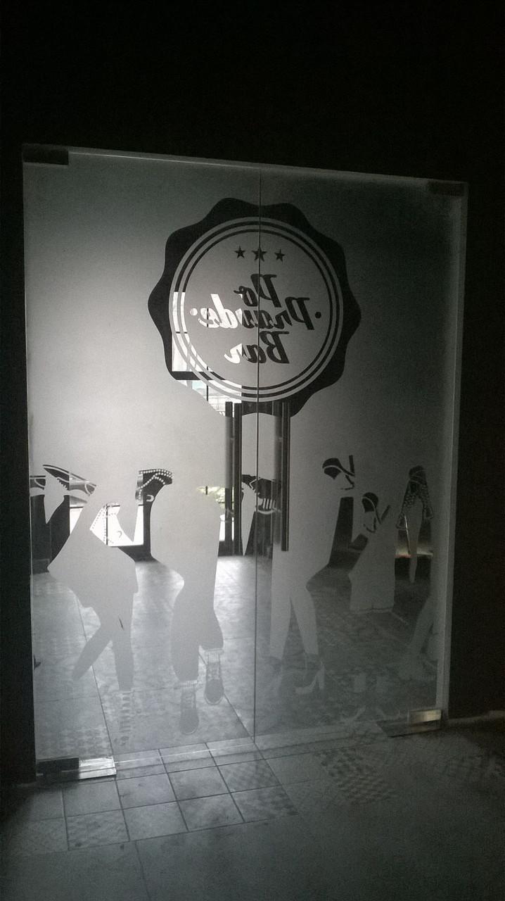 Стеклянные двери для магазинов