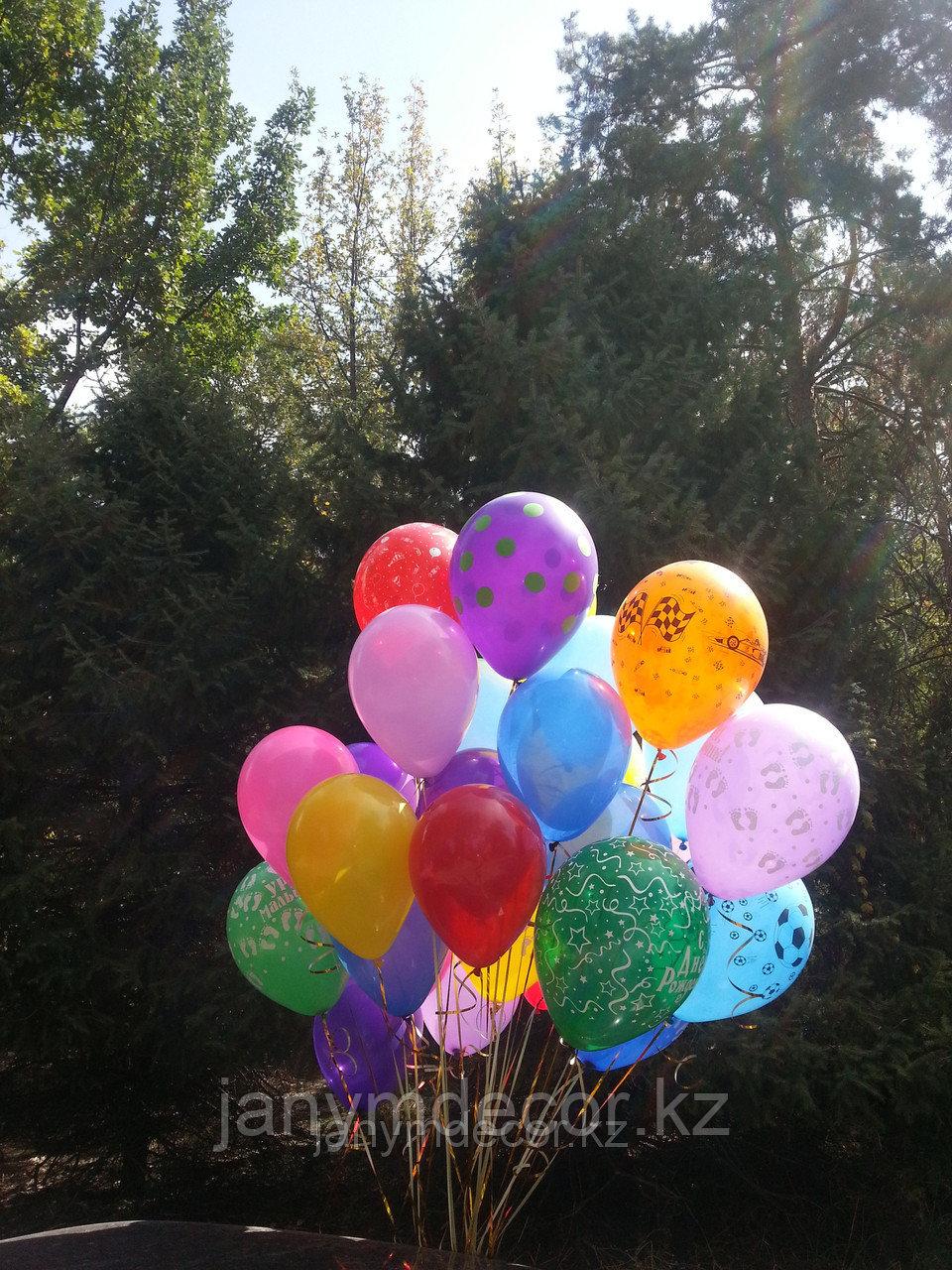 Гелиевые шары к 8 марта - фото 1