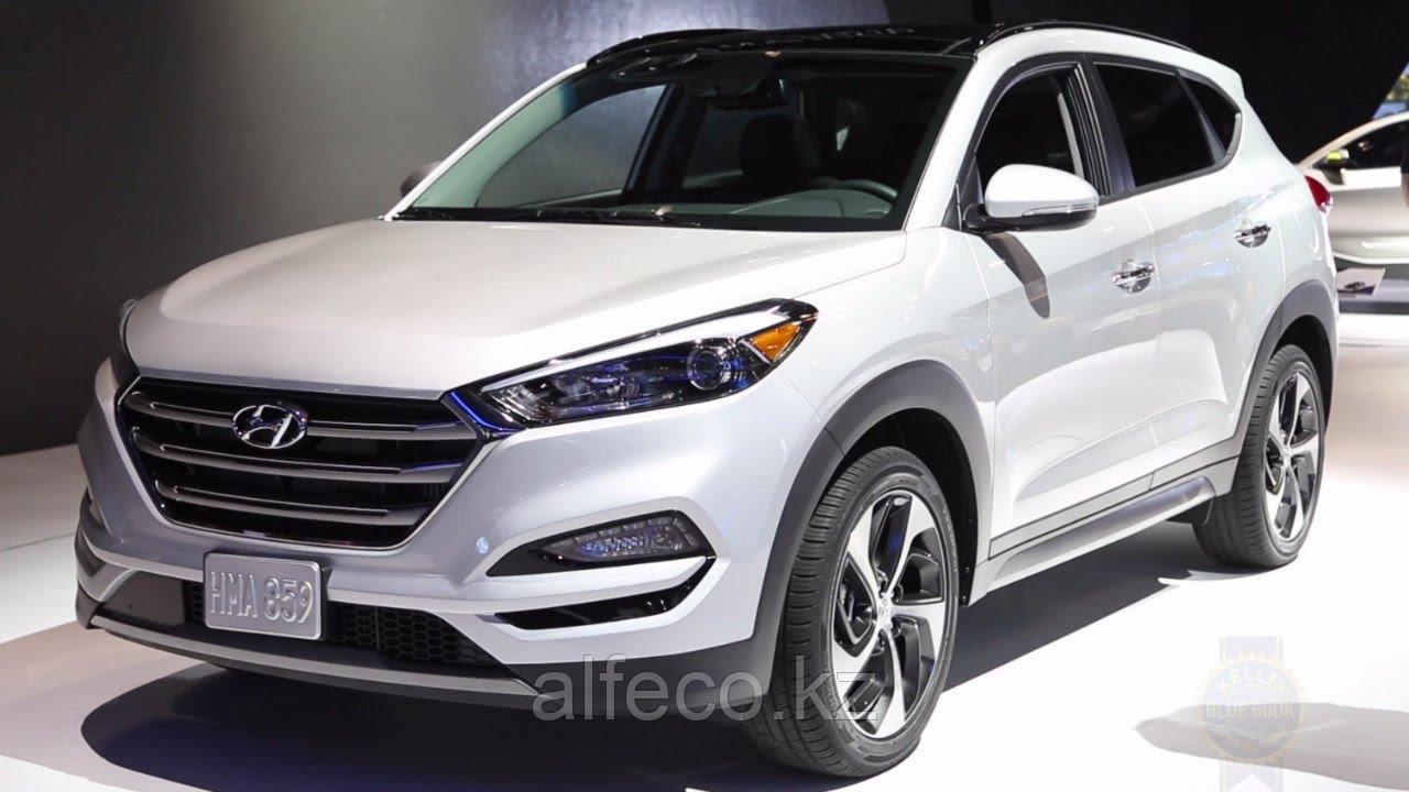 Защита картера и КПП Hyundai Tucson 2015-