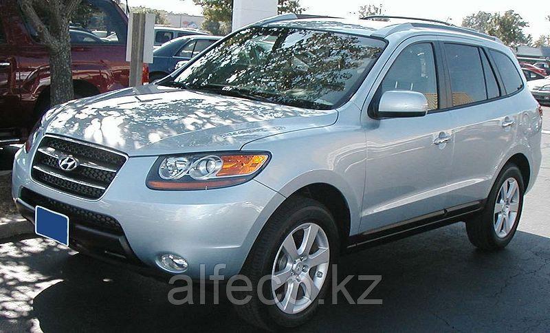 Защита картера и КПП Hyundai  Santa Fe II all 2006