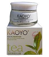 Увлажняющий крем Kaoyo, зелёный чай, фото 1