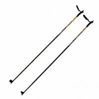 Палки лыжные из стекловолокна. Рост 100-120см