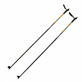 Палки лыжные из стекловолокна. Рост 140-155см