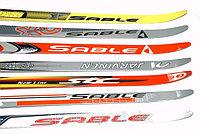 Лыжи беговые пластиковые STC. Рост 90-100 см