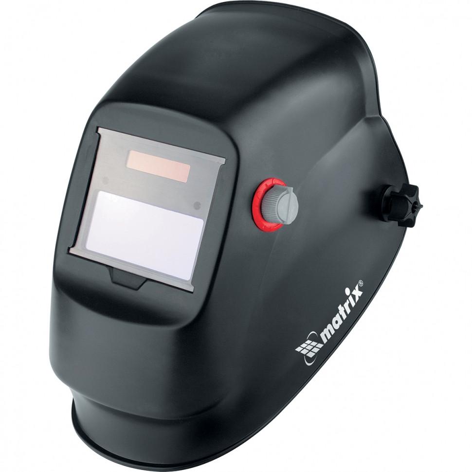 (89131) Щиток защитный лицевой (маска сварщика) с автозатемнением Optimal // MATRIX