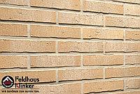 """Клинкерная плитка """"Feldhaus Klinker"""" для фасада и интерьера R733 vascu crema pandra, фото 1"""