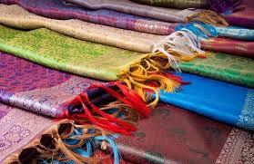 Индийские шарфы, палантины