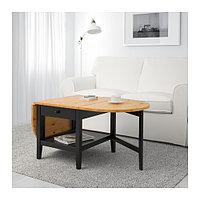 Журнальный стол АРКЕЛЬСТОРП черный ИКЕА, IKEA  , фото 1