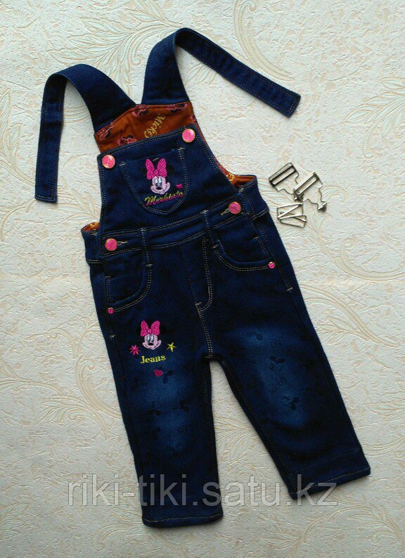 Полукомбинезоны джинсовые