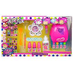 Большой набор детской косметики для ногтей Pop Girls