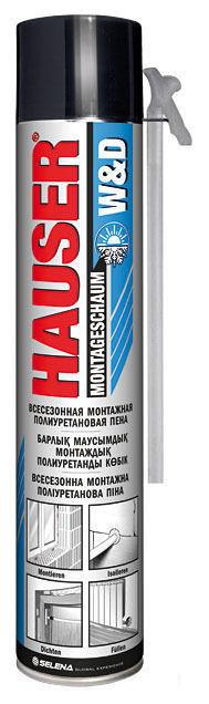 HAUSER пена СТД W&D всесезонная (600 г)