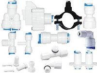 Переходники,фитинги для бытовых фильтров воды