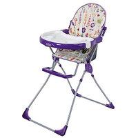 Стульчик для кормления 151 Совы фиолетовый Selby