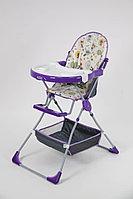 Стульчик для кормления 252 Совы фиолетовый Selby, фото 1