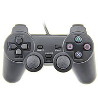 "Джойстик ""Joystick,PlayStation 2 Dual -chock interface, Analog Controller,Vibration Function,Black"""